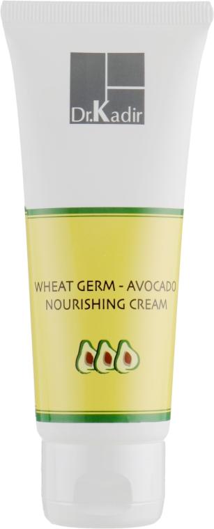 """Питательный крем """"Зародыши пшеницы и авокадо"""" - Dr. Kadir Creams and Moisturizers Wheat Germ Avocado Nourishing Cream"""