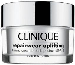 Духи, Парфюмерия, косметика Интенсивно восстанавливающий крем для сухой кожи - Clinique Uplifting Firming Cream Broad Spectrum SPF 15