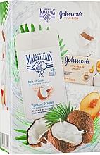 """Духи, Парфюмерия, косметика Набор """"Кокосовое наслаждение"""" - Le Petit Marseillais (show/gel/250ml + soap/125g)"""
