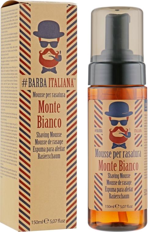 Мусс-пена для бритья - Barba Italiana Monte Bianco