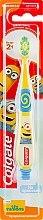 """Детская зубная щетка """"Миньоны"""" 2+, супермягкая, желтая - Colgate — фото N5"""