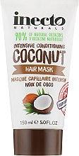 Духи, Парфюмерия, косметика Увлажняющая маска для волос с маслом кокоса - Inecto Naturals Coconut Hair Treatment