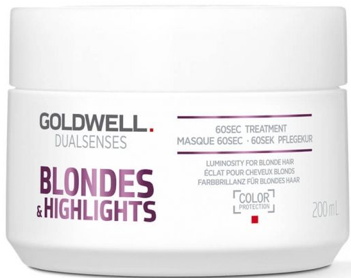 Маска для интенсивного ухода за 60 секунд - Goldwell Dualsenses Blondes&Highlights 60sec Mask