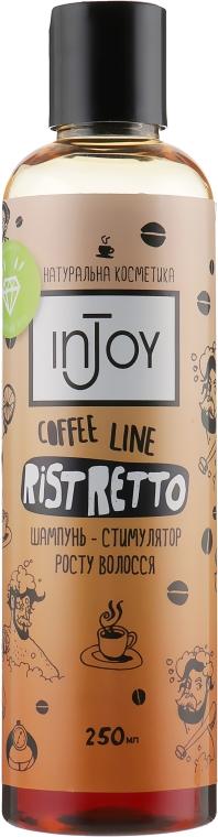Шампунь стимулятор роста волос - InJoy Coffee Line Ristretto