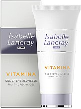 Духи, Парфюмерия, косметика Крем для лица - Isabelle Lancray Vitamina Fruity Creamy Gel