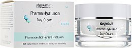 Крем дневной для лица - Pharma Hyaluron Day Cream Riche — фото N1