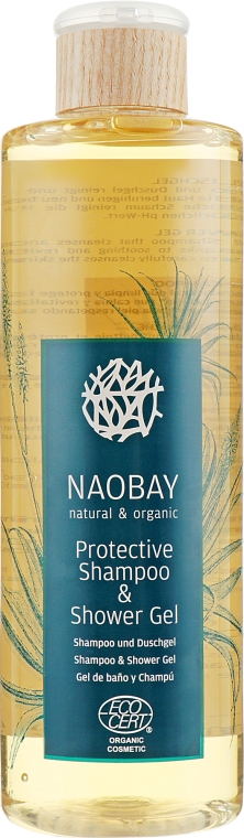 Гель для душа и шампунь - Naobay Protective Shower Gel
