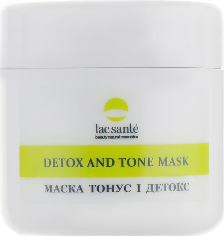 "Маска для лица и шеи ""Тонус и детокс"" - Lac Sante Face Beauty Detox and Tone Mask"