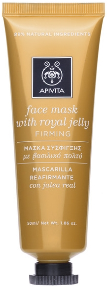 """Маска для лица с маточным молочком """" Повышение упругости кожи"""" - Apivita Firming Face Mask"""