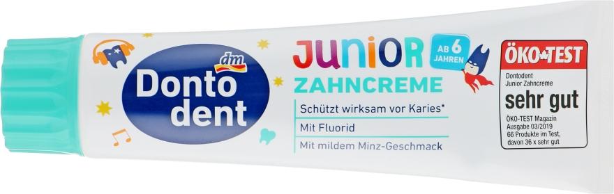 """Детская зубная паста """"Junior 6+"""" - Dontodent Junior 6+"""