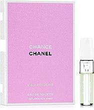 Духи, Парфюмерия, косметика Chanel Chance Eau Fraiche - Туалетная вода (пробник)