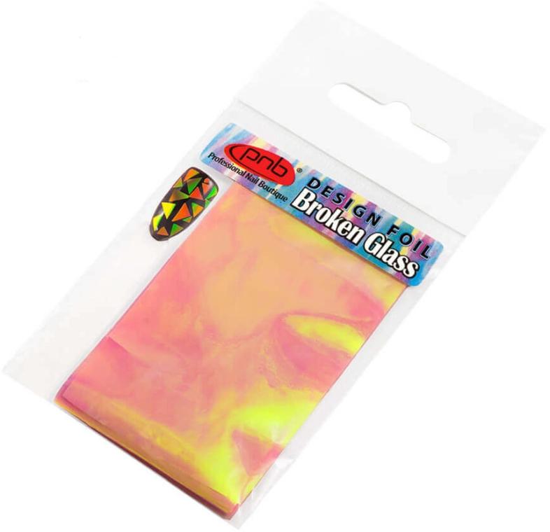 Фольга для дизайна ногтей - PNB Design Foil Broken Glass