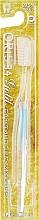 Духи, Парфюмерия, косметика Зубная щетка для чувствительных десен, голубая - White Oris 34 Gold Toothbrush