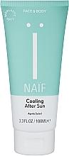 Духи, Парфюмерия, косметика Охлаждающий гель после загара для детей - Naif Cooling After Sun Gel