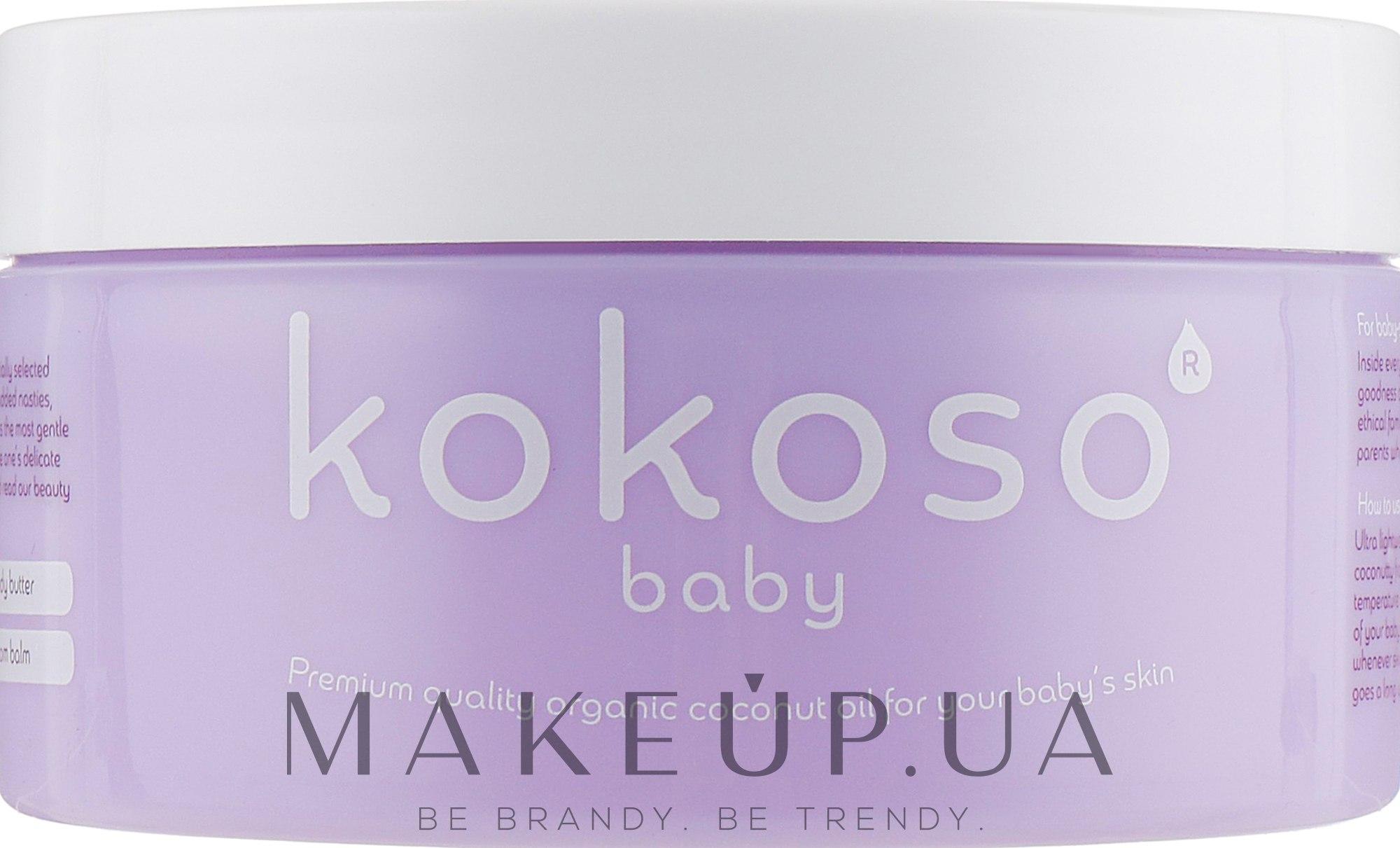 Детское кокосовое масло - Kokoso Baby Skincare Coconut Oil — фото 168g