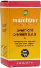 Духи, Парфюмерия, косметика Средство против сыпей и недостатков на коже - Mambino Organics Overnight Blemish S.O.S.