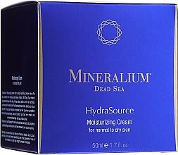 Духи, Парфюмерия, косметика Увлажняющий крем для нормальной и сухой кожи - Mineralium Dead Sea HydraSource Moisturizing Cream For Normal To Dry Skin