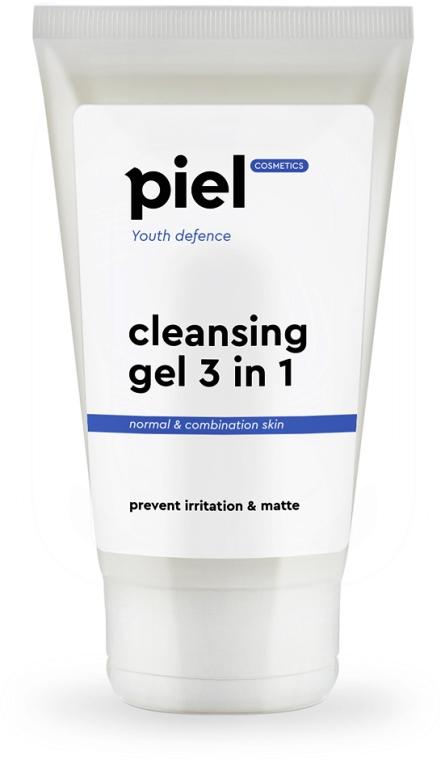 Гель для вмивання - Piel cosmetics Youth Defense Purifying Gel Cleanser 3in1 — фото N1