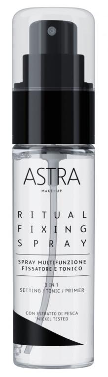 Спрей-фиксатор для макияжа - Astra Make-Up Ritual Fixing Spray