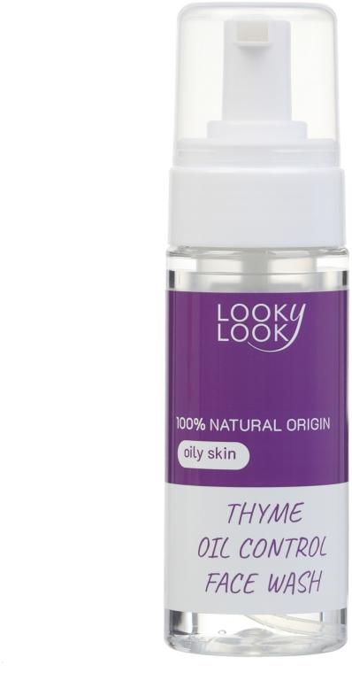 Пенка для умывания для комбинированной и склонной к жирности кожи с экстрактом чабреца - Looky Look Facial Wash