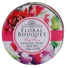 Духи, Парфюмерия, косметика Мыло для рук и тела - The Somerset Toiletry Co. Floral Bouquet Red Rose Luxury Soap