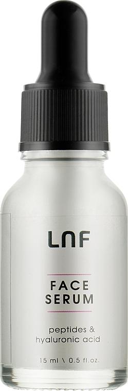 Концентрированная увлажняющая сыворотка с лифтинг эффектом «Пептиды + Гиалуроновая кислота» - Luff Intensive Hydration Face Serum