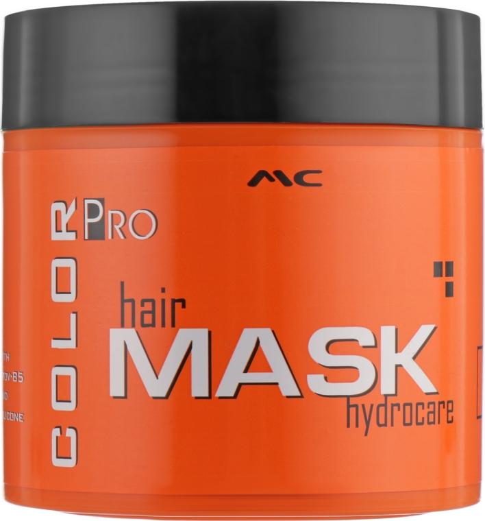 Маска для окрашенных волос - Mediterraneum Color Pro Hair Mask Hydrocare — фото N1