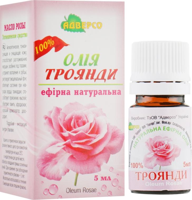 """Эфирное масло """"Розы 100 %"""" - Адверсо"""