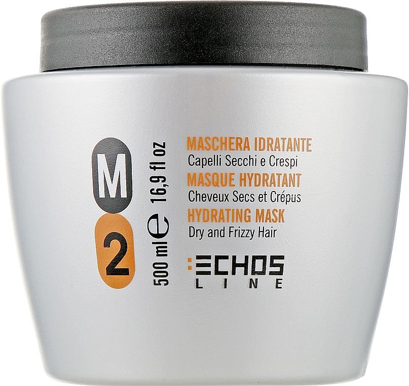 Маска для сухих и вьющихся волос - Echosline M2 Hydrating Mask