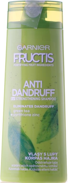 Шампунь 2 в 1 для всіх типів волосся - Garnier Fructis Проти Лупи — фото N3