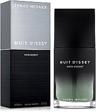Духи, Парфюмерия, косметика Issey Miyake Nuit D'Issey Noir Argent - Парфюмированная вода