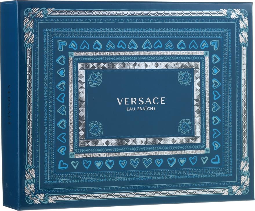 Versace Man Eau Fraiche - Набор (edt 50ml + sh/gel 50ml + a/sh 50ml)