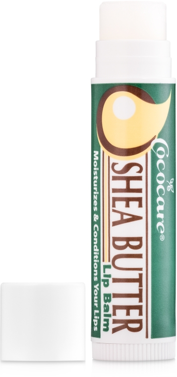 Бальзам для губ, масло ши - Cococare Shea Butter Lip Balm