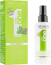 Духи, Парфюмерия, косметика Спрей-маска для ухода за волосами с ароматом зеленого чая - Revlon Professional Uniq One Green Tea Scent Treatment