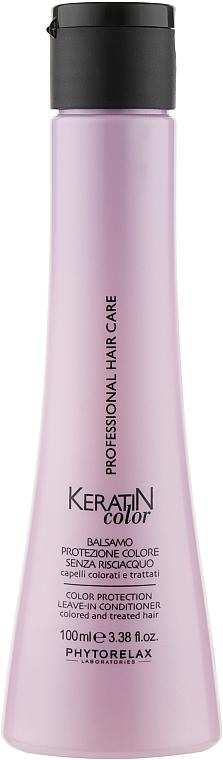Кондиционер для окрашеных волос - Phytorelax Laboratories Keratin Color Protection Leave-In Conditioner