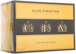 Духи, Парфюмерия, косметика Clive Christian C For Women - Набор (parfum/10ml + parfum/10ml + parfum/10ml)