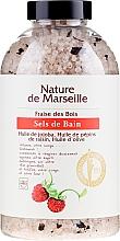 Духи, Парфюмерия, косметика Соль для ванны с ароматом земляники - Nature de Marseille