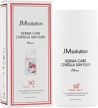 Духи, Парфюмерия, косметика Солнцезащитный флюид с экстрактом центеллы азиатской SPF50+/PA++++ - JMsolution Derma Care Centella Sun Fluid