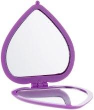 Духи, Парфюмерия, косметика Зеркало косметическое в виде сердца, 85550, фиолетовое - Top Choice