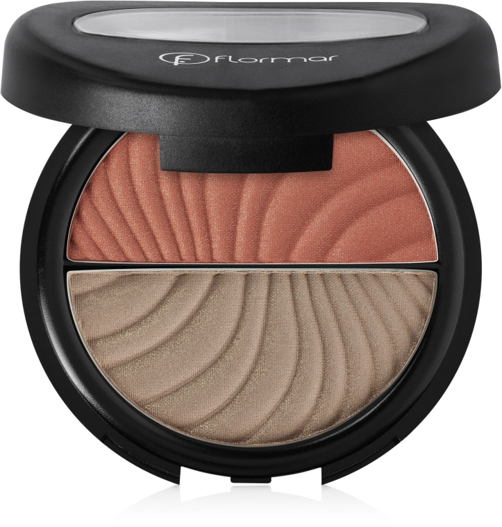 Румяна-бронзатор - Flormar Duo Color Blush-On