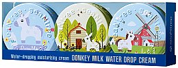 Духи, Парфюмерия, косметика Набор - SeaNtree Donkey Milk Water Drop Set 7 (f/cr/3x35g)
