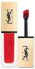 Духи, Парфюмерия, косметика Помада для губ - Yves Saint Laurent Tatouage Couture Liquid Matte Lip Stain