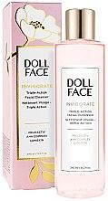 Духи, Парфюмерия, косметика Гель для умывания - Doll Face Invigorate Triple-Action Facial Cleanser