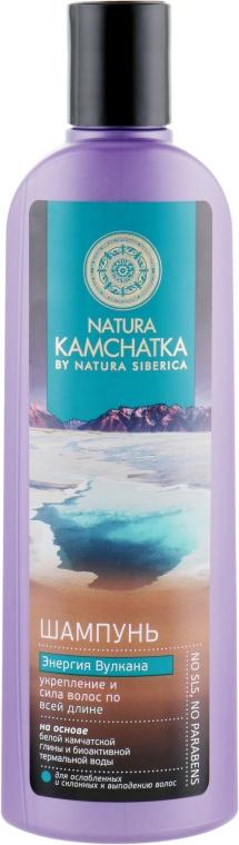 "Шампунь для волос ""Энергия Вулкана"" - Natura Siberica Natura Kamchatka Shampoo"