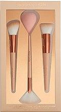 Духи, Парфюмерия, косметика Набор для макияжа - Makeup Revolution Sculp & Glow Brush with Blending Sponge
