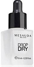 Парфумерія, косметика Сушка для нігтів - Mesauda Milano Drop Dry 112