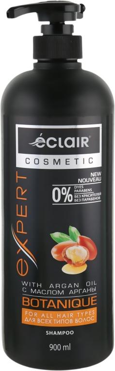 Шампунь для всех типов волос с маслом арганы - Eclair Infra Care Expert Argan Oil Shampoo