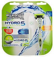 Духи, Парфюмерия, косметика Станок для бритья + 5 сменных лезвий - Wilkinson Sword Hydro 5 Sensitive