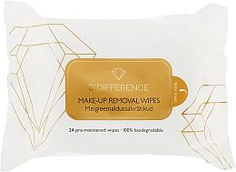 Духи, Парфюмерия, косметика Влажные салфетки для снятия макияжа - D'Difference Basics Make Up Remover Wipes