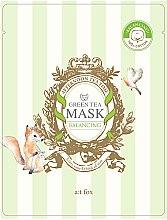 """Духи, Парфюмерия, косметика Маска для лица, поддерживающая гидро-липидный баланс кожи """"Green Tea"""" - A:t fox Balancing Green Tea Mask"""